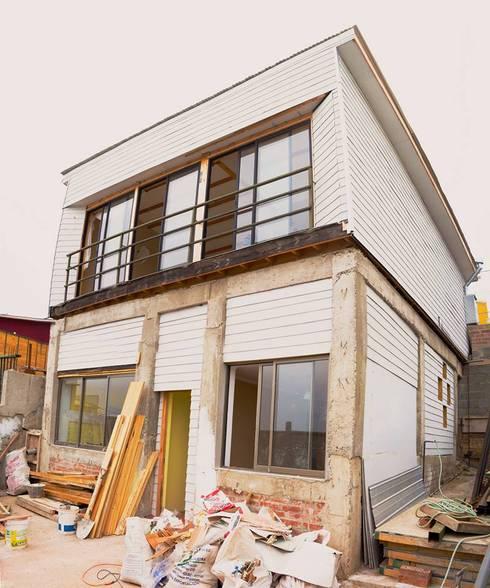 Projekty,  Domy zaprojektowane przez ONG Vivienda Local