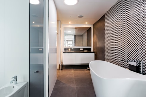 modern Bathroom by Bornelo Interior Design