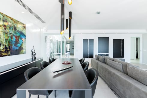 modern Dining room by Bornelo Interior Design