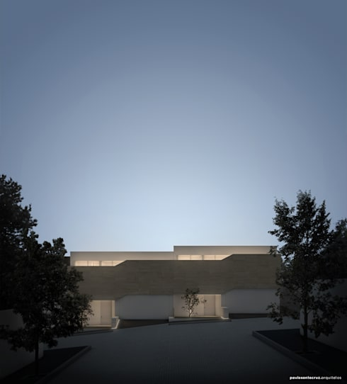 Bela Houses: Casas minimalistas por paulosantacruz.arquitetos