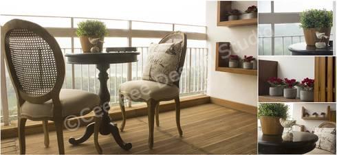 2 BHK Apartment in Kolkata: modern Kitchen by Cee Bee Design Studio