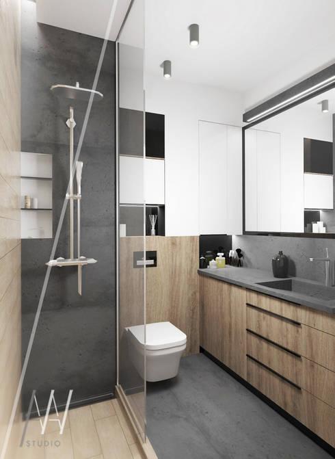 Bathroom by AAW studio