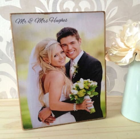Bespoke Wooden Photo Plaques:  Household by PhotoFairytales