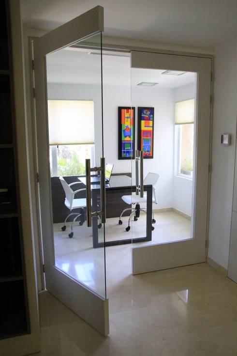 APTO PS: Oficinas de estilo  por JAVC ARQUITECTOS S.C