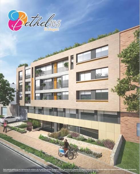 Baumeister: Casas de estilo moderno por PROYECTO BAUMEISTER
