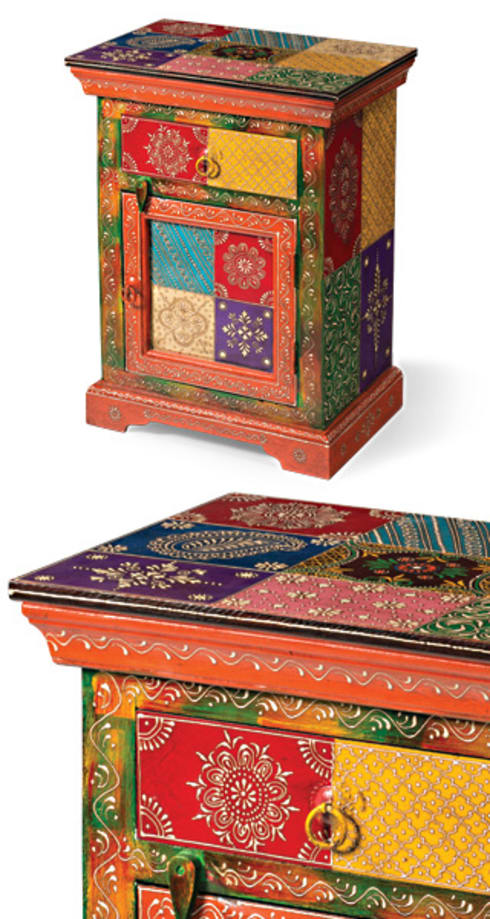 indian hand painted furniture by asia dragon homify. Black Bedroom Furniture Sets. Home Design Ideas