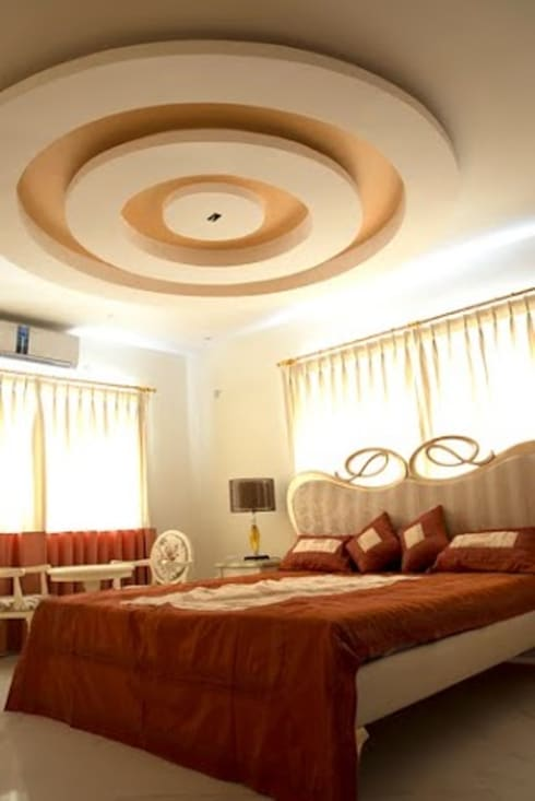 3 BHK Apartment Bengaluru: modern Bedroom by Cee Bee Design Studio