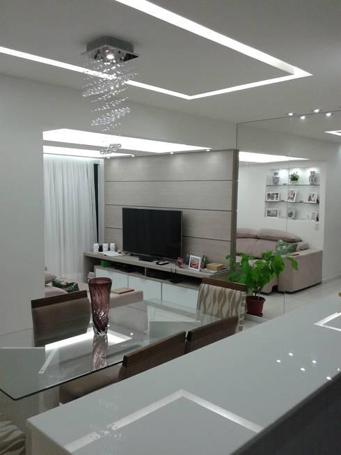 Sala depois:   por Anderson Roberto  - Soluções Inteligentes para Ambientes