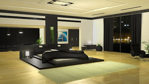 Dr. Suraj: eclectic Bedroom by director4