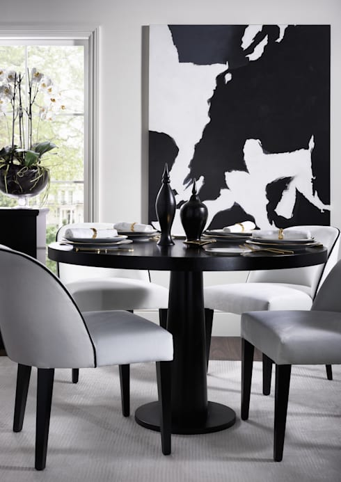modern Dining room by LuxDeco
