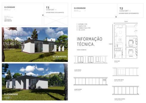 Habitação Modular:   por ClickHouse