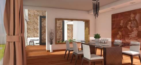 Comedor: Comedores de estilo moderno por FyA Arquitectos