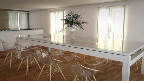 Idea de Comedor Principal 1: Comedores de estilo moderno por FyA Arquitectos