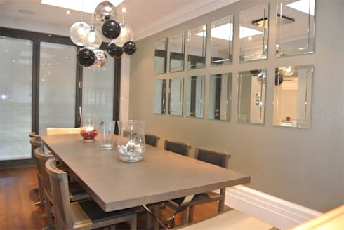 Dining room: modern Dining room by Rethink Interiors Ltd