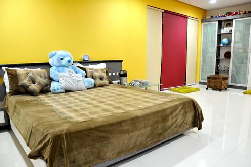 Dhiren Tharnani: modern Bedroom by IMAGE N SHAPE