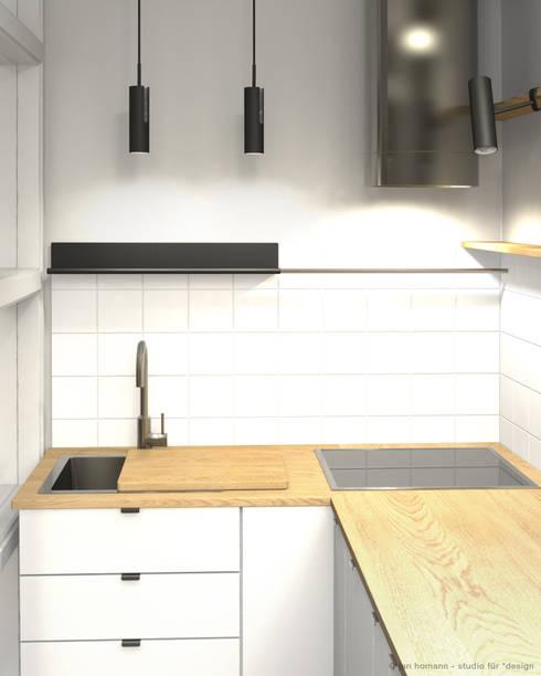 Mini Küche miniküche studio jan homann homify