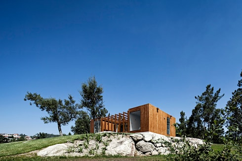 Treehouse Douro: Casas modernas por Jular Madeiras