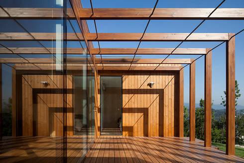 Treehouse Douro: Terraços  por Jular Madeiras