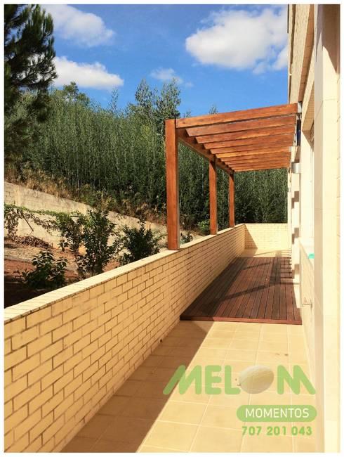 Remodelação de Apartamento: Terraços  por MELOM Momentos