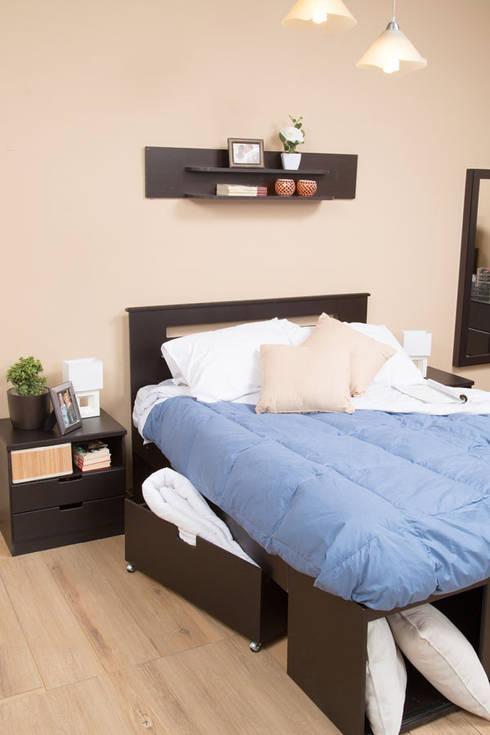 Muebles de recámara: Recámaras de estilo  por Idea Interior