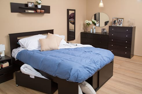 Muebles de recámara: Recámaras de estilo clásico por Idea Interior
