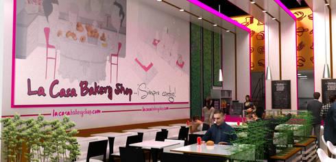 interior 2:  de estilo  por Elizabeth SJ