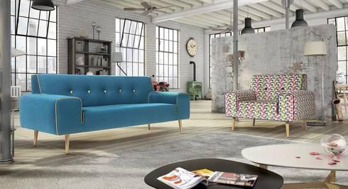 Sofás Ryan: Sala de estar  por VM HOME DESIGN