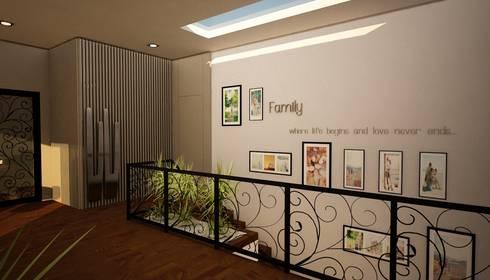 Apartamento Matosinhos: Corredores e halls de entrada  por Decorando - Inner Spaces