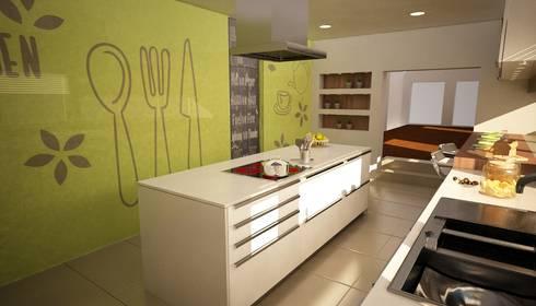 Apartamento Matosinhos: Cozinhas modernas por Decorando - Inner Spaces