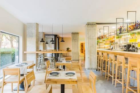 Restaurante atrapallada de zooco estudio homify - Restaurante atrapallada madrid ...