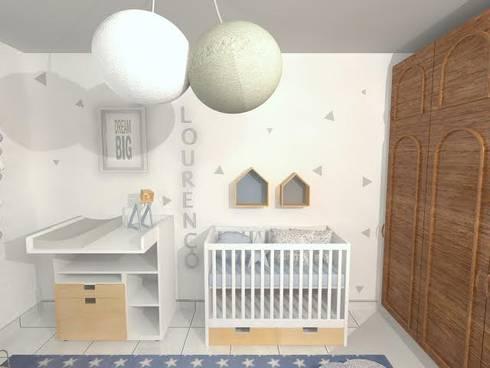 Quarto do Lourenço:   por This Little Room