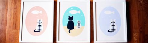 Cat Wishes: Quarto de crianças  por Cloudswishes