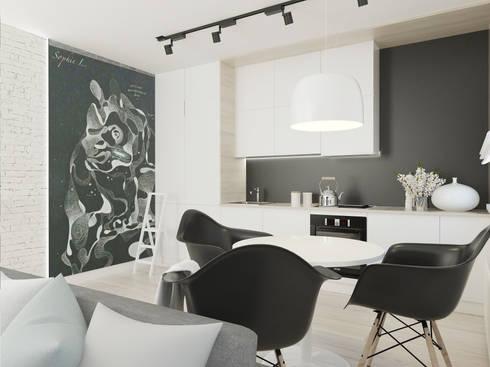 schwarz wei haus von foorma homify. Black Bedroom Furniture Sets. Home Design Ideas