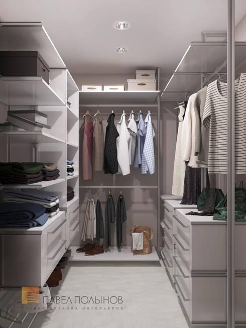 غرفة الملابس تنفيذ Студия Павла Полынова