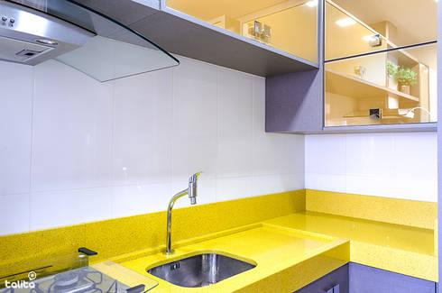 Cozinha : Cozinhas modernas por Talita - Fotografia de Arquitetura e Decoração