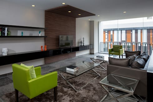 DEPARTAMENTO: Edificios de Oficinas de estilo  por Rousseau Arquitectos