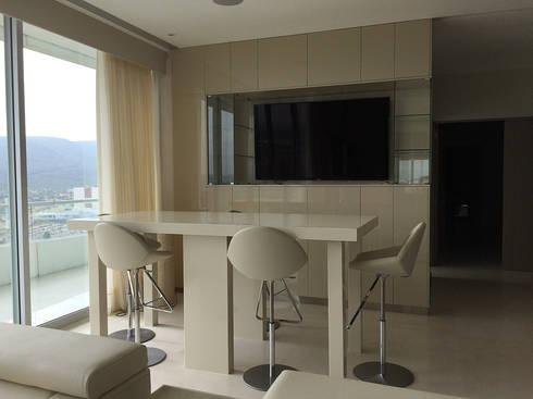 Barra: Comedores de estilo moderno por AParquitectos