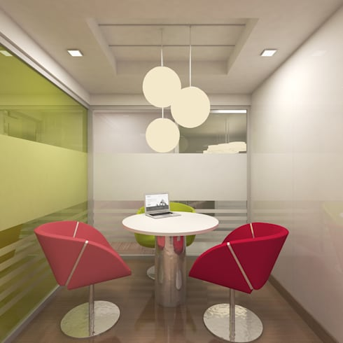DISCUSSION ROOM:  Walls by De Panache  - Interior Architects