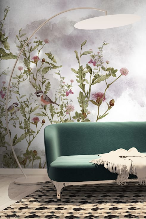 HF089-Eventide: Casa  por House Frame Wallpaper & Fabrics