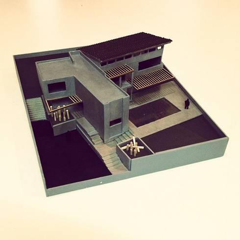 CaSA PADELFORD: Casas de estilo moderno por CoRREA Arquitectos