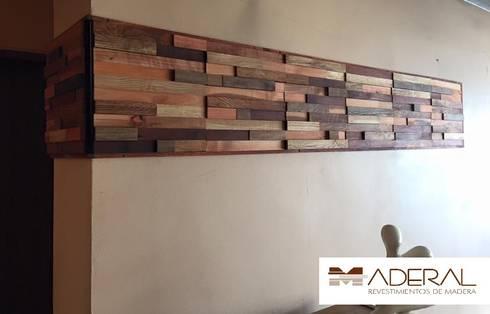 Maderal Instalado : Paredes y suelos de estilo  por Maderal