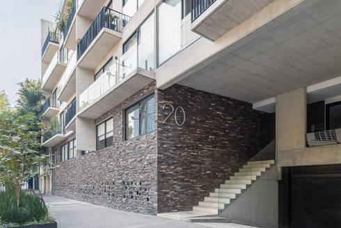 Sinaloa 20: Casas de estilo moderno por PHia