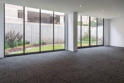 Tabachines 40: Salas de estilo minimalista por PHia