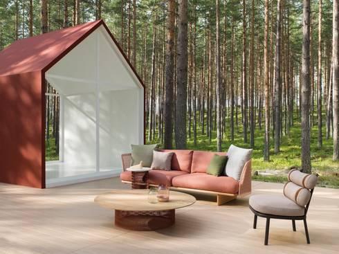 Kettal: Jardim  por Traços Interiores