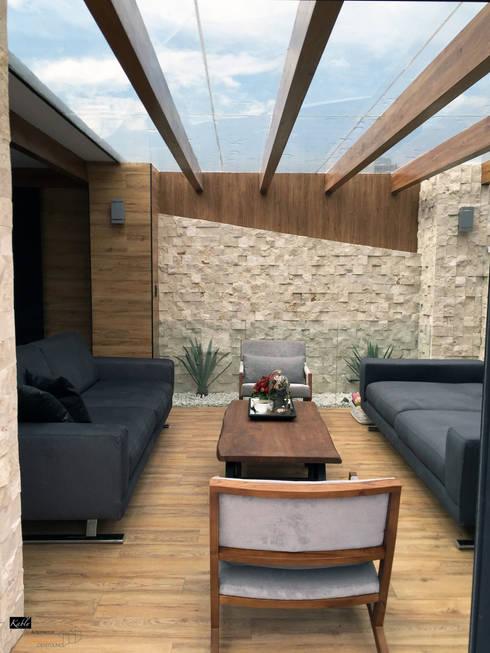 Terraços  por Arquitectura101 + Kably Arquitectos
