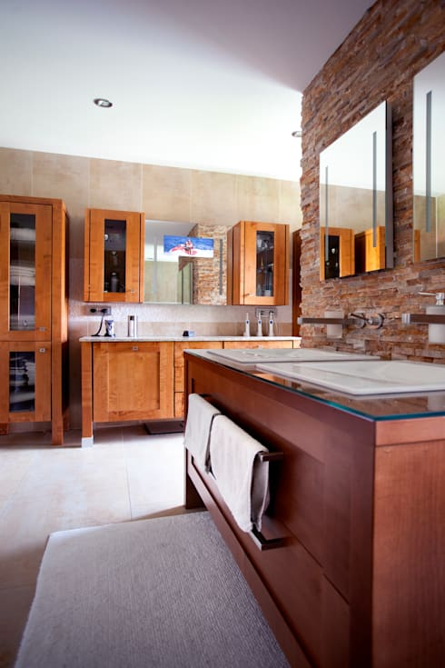 modern Bathroom by Klaus Geyer Elektrotechnik