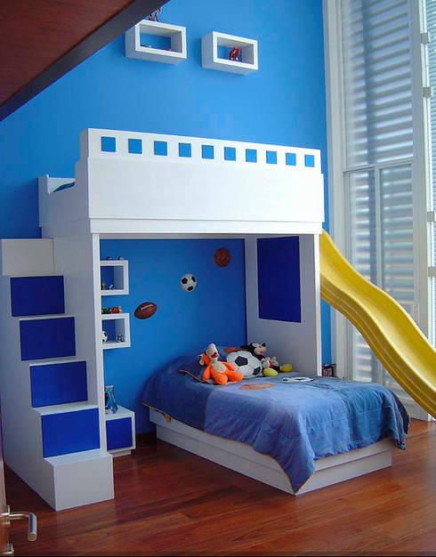 Habitaciones infantiles de estilo  por AParquitectos