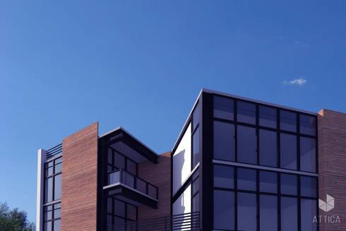 Departamentos Toledo CDMX:  de estilo  por ATTICA ARQUITECTOS