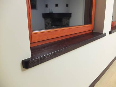 Forest Lodge:  Windows  by Black Oak Builders Ltd.
