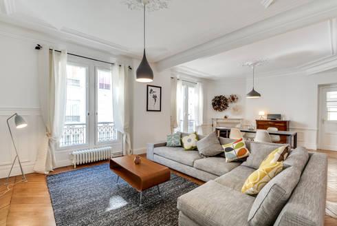 Aménagement d\'un appartement haussmannien by Decorexpat   homify